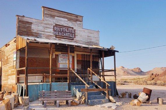 wikimedia.org/Rhyolite, Nevada