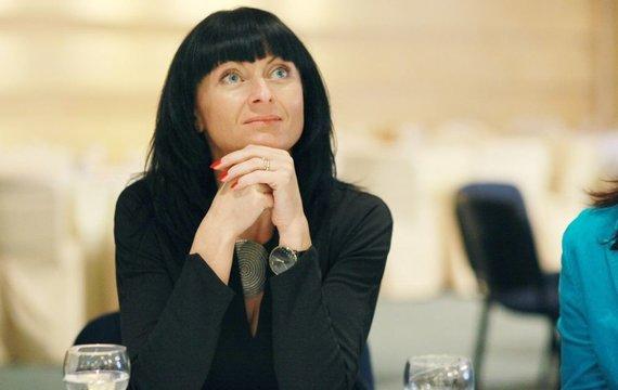 v1.pareigunai.lt nuotr./Policijos profesinės sąjungos pirmininkė Roma Katinienė