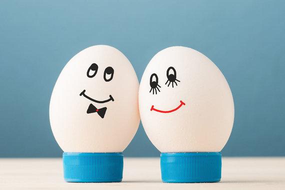 """""""Fotolia"""" nuotr./Jausmingi kiaušiniai"""