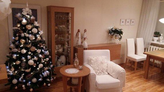 Ji24.lt skaitytojos nuotr./Linos J. (Panevėžys) kalėdinė dekoracija