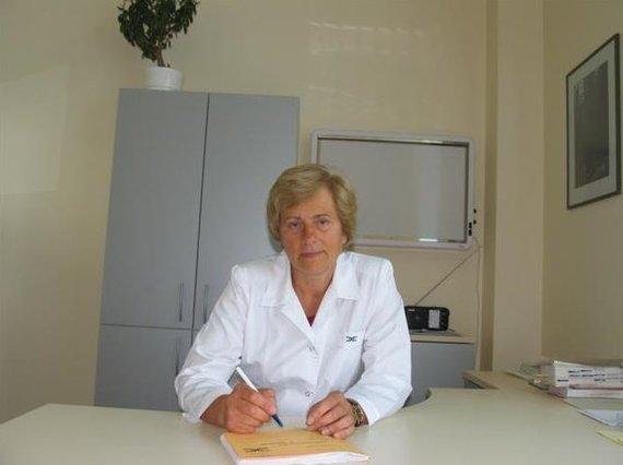 Asmeninio archyvo nuotr./Gydytoja kardiologė Vidmanta Milašienė
