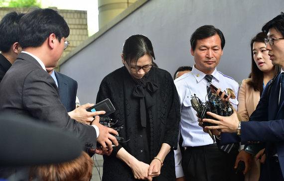 "AFP/""Scanpix"" nuotr./Cho Hyun-Ah"
