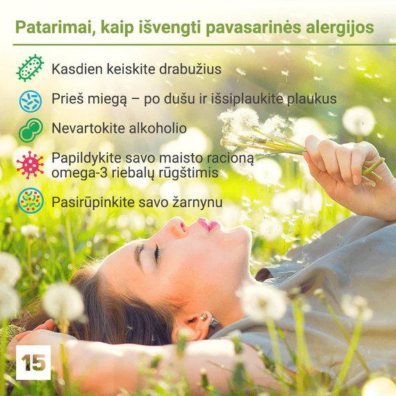 15min.lt montažas/Kaip išvengti pavasarinės alergijos?