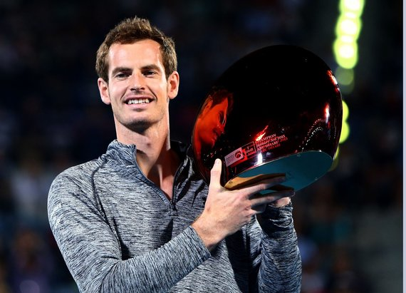 Andy Murray iškovojo pirmą sezono trofėjų