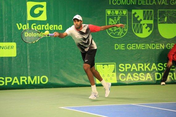 ATP Val Gardena nuotr./Rajeevas Ramas