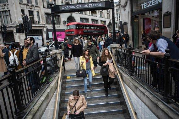 "AFP/""Scanpix"" nuotr./Metro Londone"
