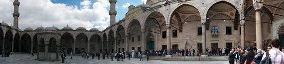 Jurgitos Lapienytės nuotr./Mėlynoji mečetė Stambule