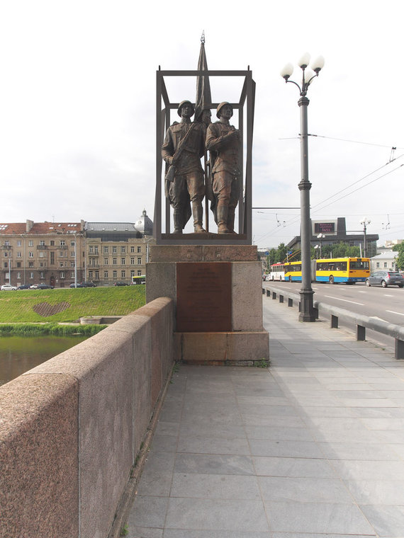 Audriaus Ambraso nuotr./Žaliojo tilto skulptūros