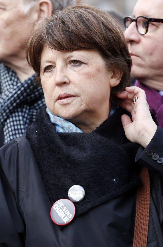 """""""Scanpix"""" nuotr./Socialistė Martine Aubry"""