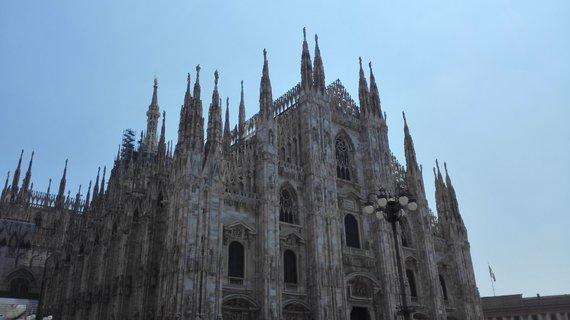 Jurgitos Lapienytės nuotr./Milano katedra