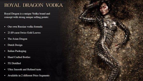 """""""Royal Dragon Vodka"""""""