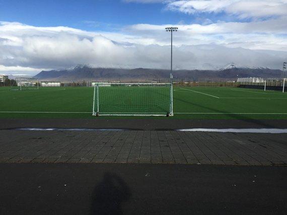 "Futbolo mokyklos ""Ataka"" nuotr./Stadionas Reikjavike"
