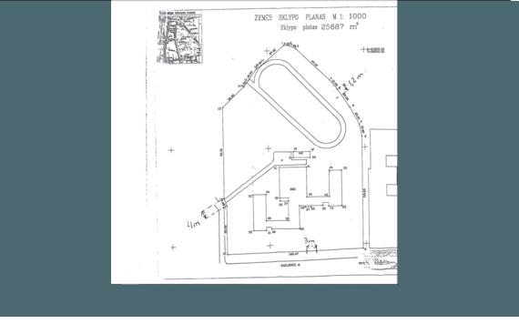 Šv. Kristoforo gimnazijos teritorijos planas