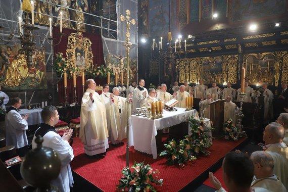 diecezja.pl nuotr./Palaimintojo Mykolo Giedraičio beatifikacija Krokuvoje