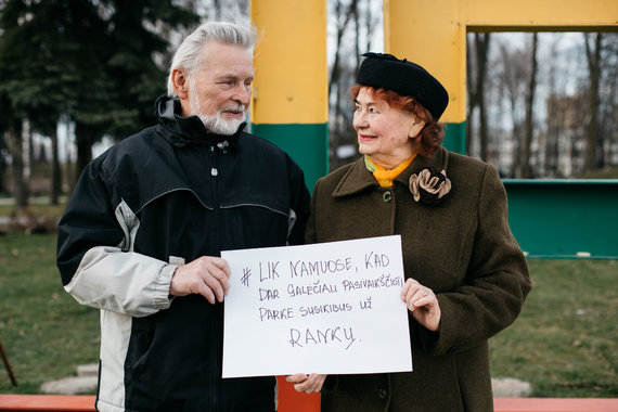 """""""Baltas Media"""" nuotr./Kauno senjorų žinutės jaunimui"""