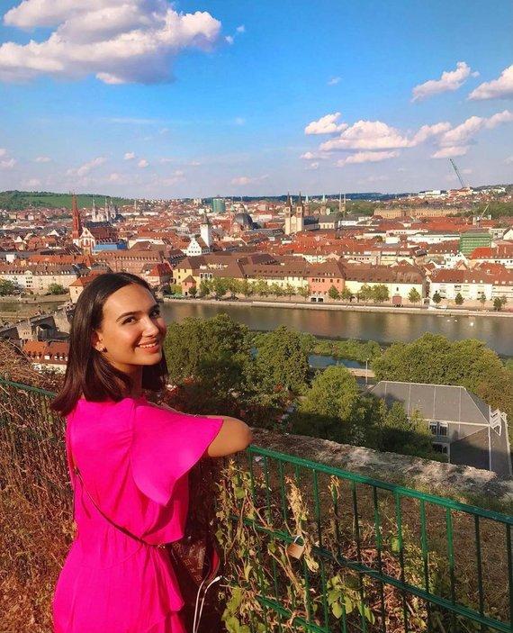 Asmeninio archyvo nuotr./Lietuvoje įsikūrusi azerbaidžanietė Nazrin Aliyeva