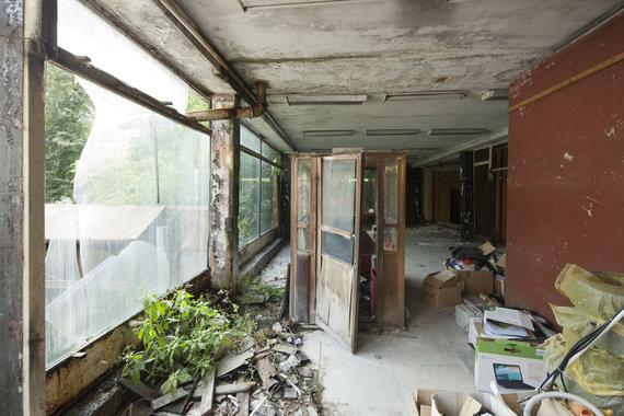 """""""Naujojo Užupio"""" nuotr. /Suplanuoti griauti pastatai yra avarinės būklės, o gruntas po jais – užterštas"""