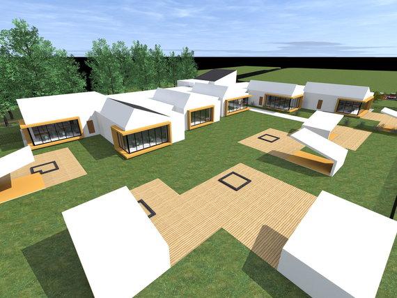 """Planuojamas vaikų darželis daugiabučių namų """"Venecijos"""" kvartale"""