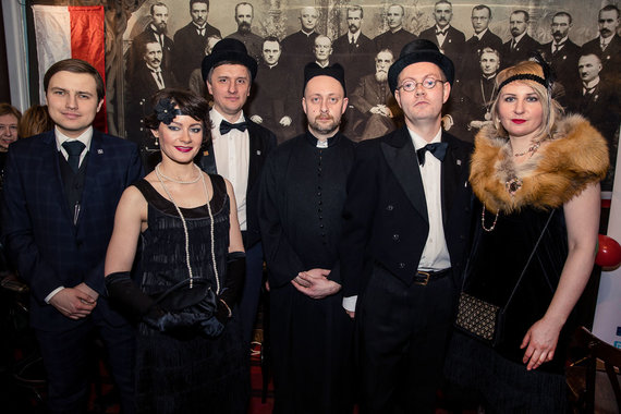 Joanna Bożerodska/zw.lt nuotr./Lenkijos diskusijų klubo šventė Vasario 16-osios proga