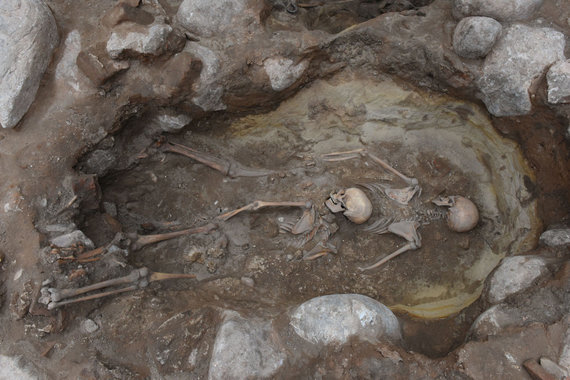 Kęstučio Stoškaus, Lietuvos nacionalinis muziejaus nuotr./Archeologiniai tyrimai Gedimino pilies kalno aikštelėje
