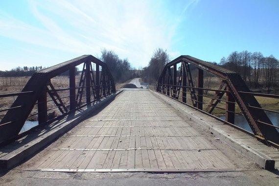Mariaus Skerniškio nuotr./Kazbėjų tiltas. Senojo gardino perspektyva