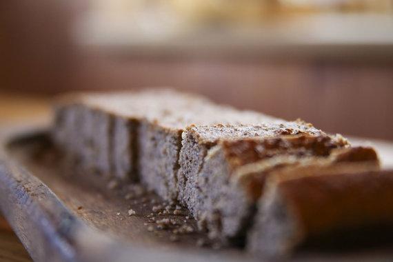Mato Miežonio/15min nuotr./Pyragas iš grikių miltų
