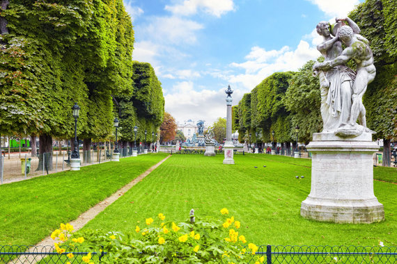 123rf.com nuotr./Parkas Paryžiuje