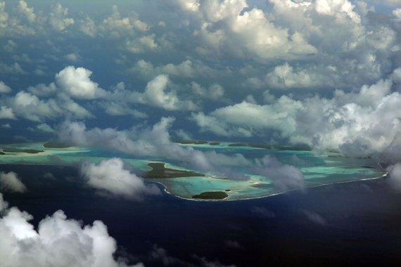 123rf.com nuotr./Tetiaroa sala iš viršaus