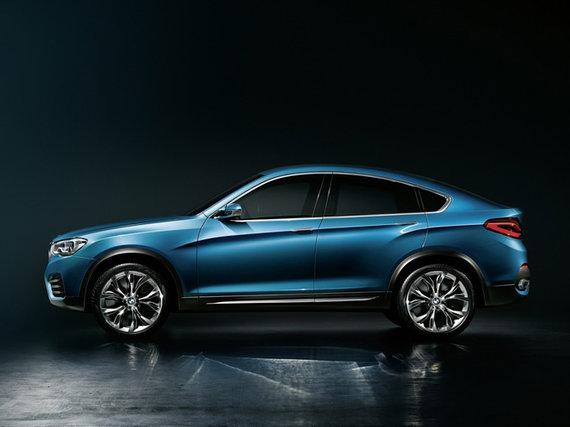 Gamintojo nuotr./BMW X4