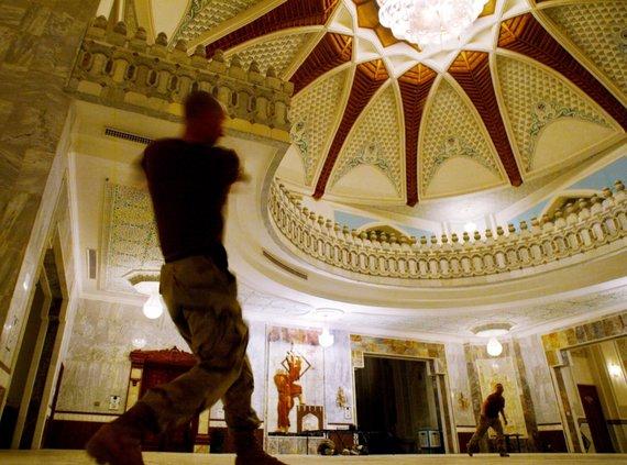 """""""Scanpix"""" nuotr./Irako diktatoriaus Saddamo Husseino rūmai Bagdade"""