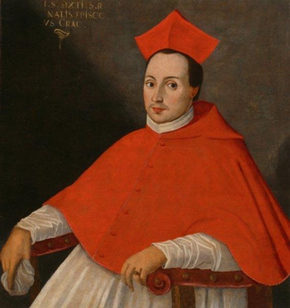 Pirmasis Lietuvos kardinolas kunigaikštis Jurgis Radvila.