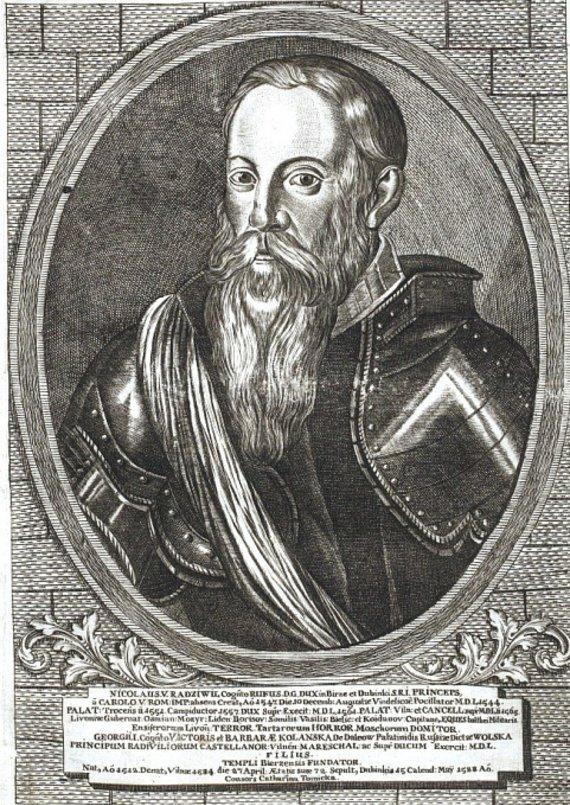 Kunigaikštis Mikalojus Radvila Rudasis