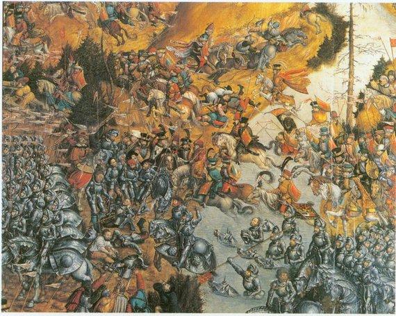 LDK kariuomenė Oršos mūšyje 1514 metais
