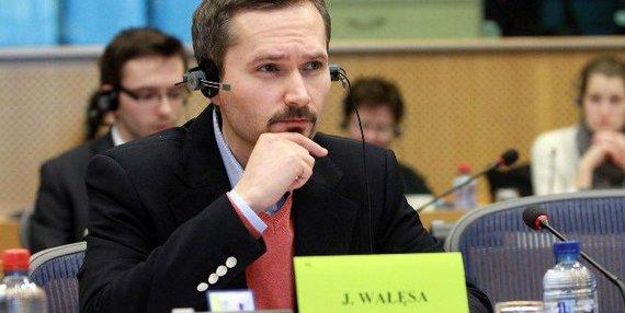 Europarlamentaras Jaroslawas Walęsa