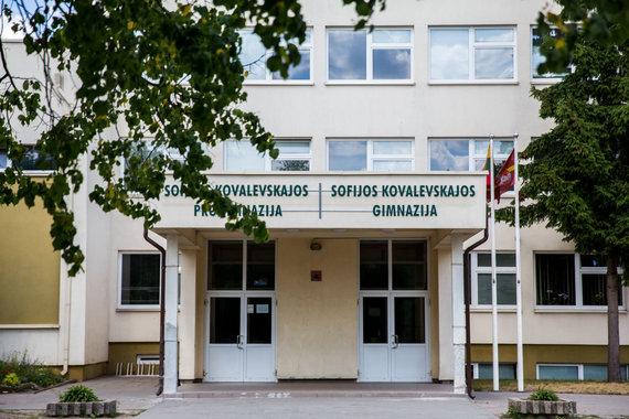 Luko Balandžio / 15min nuotr./Vilniaus Sofijos Kovalevskajos progimnazija