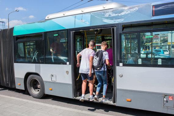 Luko Balandžio / 15min nuotr./Vilniaus viešasis transportas