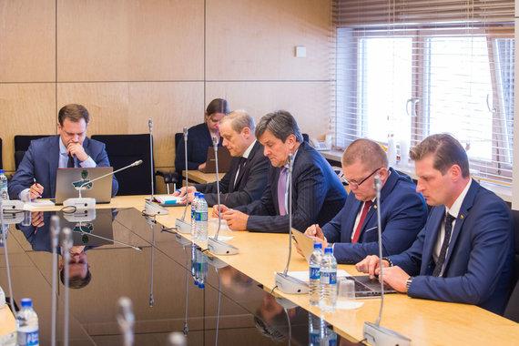 Luko Balandžio / 15min nuotr./Laikinosios tyrimo komisijos dėl LRT veiklos posėdis