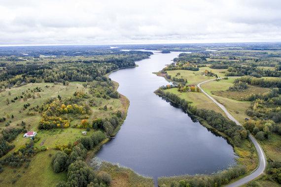 Luko Balandžio / 15min nuotr./Sartų ežeras