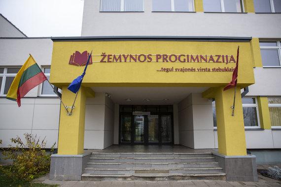 Luko Balandžio / 15min nuotr./Streikas Vilniaus Žemynos progimnazijoje