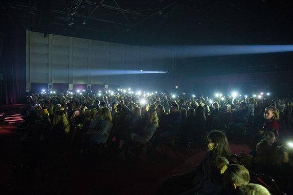 Luko Balandžio / 15min nuotr./Monique koncerto Vilniuje akimirka