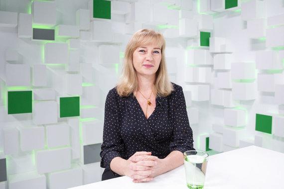 Luko Balandžio / 15min nuotr./Gydytoja dietologė Edita Gavelienė
