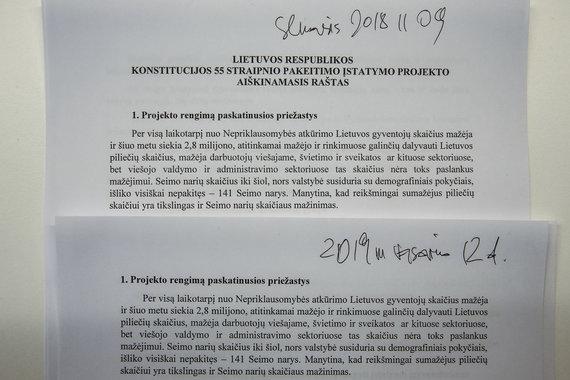 Luko Balandžio / 15min nuotr./Aiškinamasis raštas
