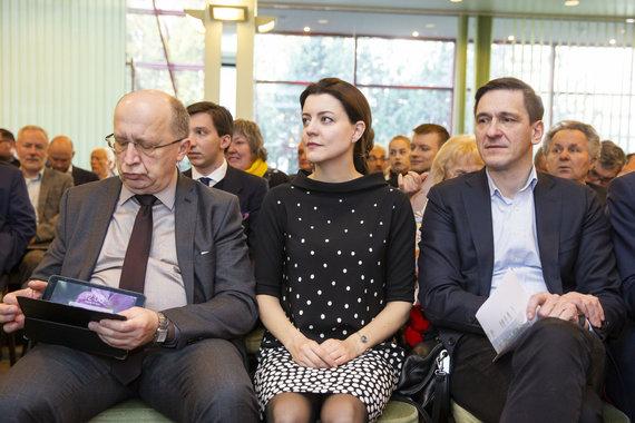 Luko Balandžio / 15min nuotr./Andrius Kubilius, Monika Navickienė, Dainius Kreivys