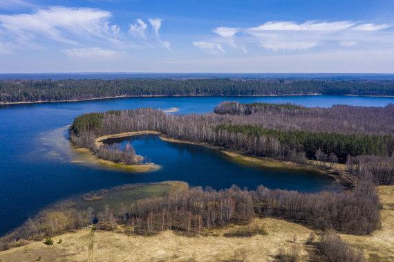 Luko Balandžio / 15min nuotr./Tauragno ežeras