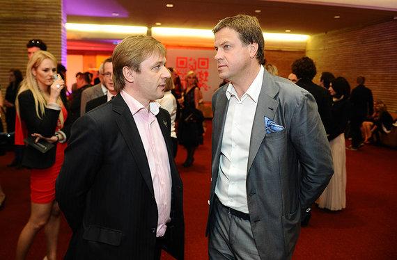 Luko Balandžio nuotr./Rolandas Skaisgirys (dešinėje) ir Ramūnas Karbauskis