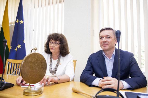 Luko Balandžio / 15min nuotr./Rima Baškienė, Ramūnas Karbauskis