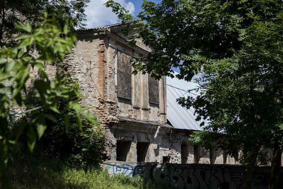 Luko Balandžio / 15min nuotr./Vietoje Reformatų Sinodo pastato planuojami butai