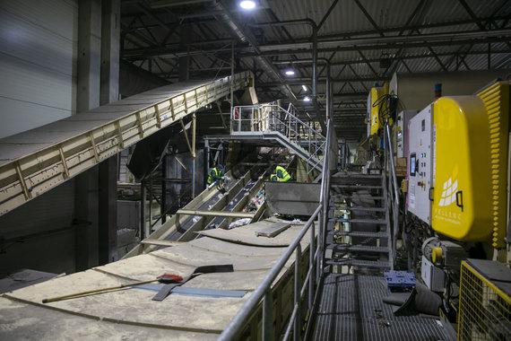 Luko Balandžio / 15min nuotr./Vilniaus regiono komunalinių atliekų mechaninio biologinio apdorojimo gamykla