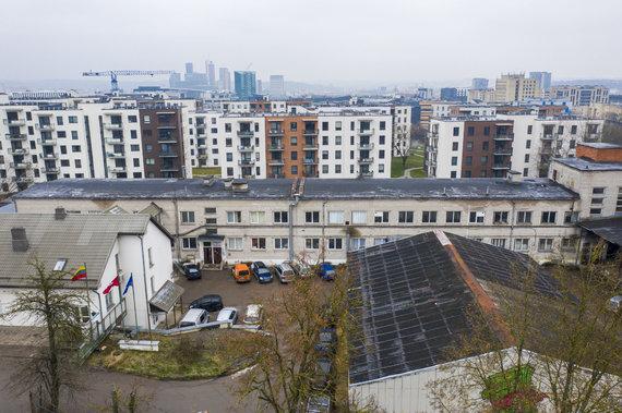 """Luko Balandžio / 15min nuotr./""""Rewo"""" sostinės Paribio gatvėje planuoja daugiabučių statybas"""