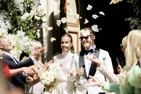 Luko Balandžio / 15min nuotr./Viktorijos Siegel ir Lauryno Suodaičio vestuvės